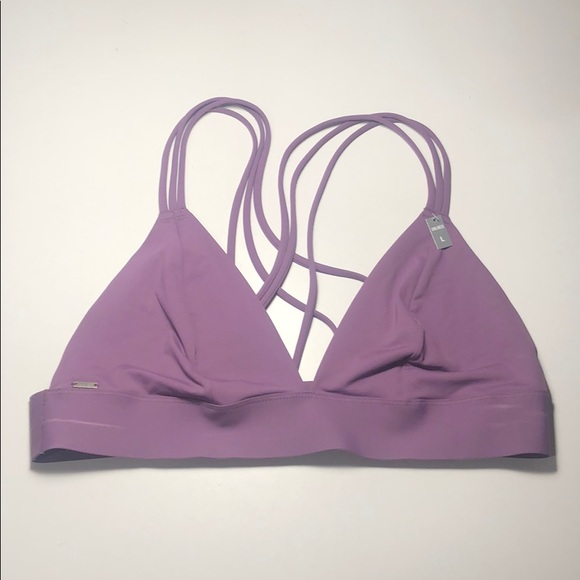 PINK Victoria's Secret Other - purple VS pink strappy unlined bralette